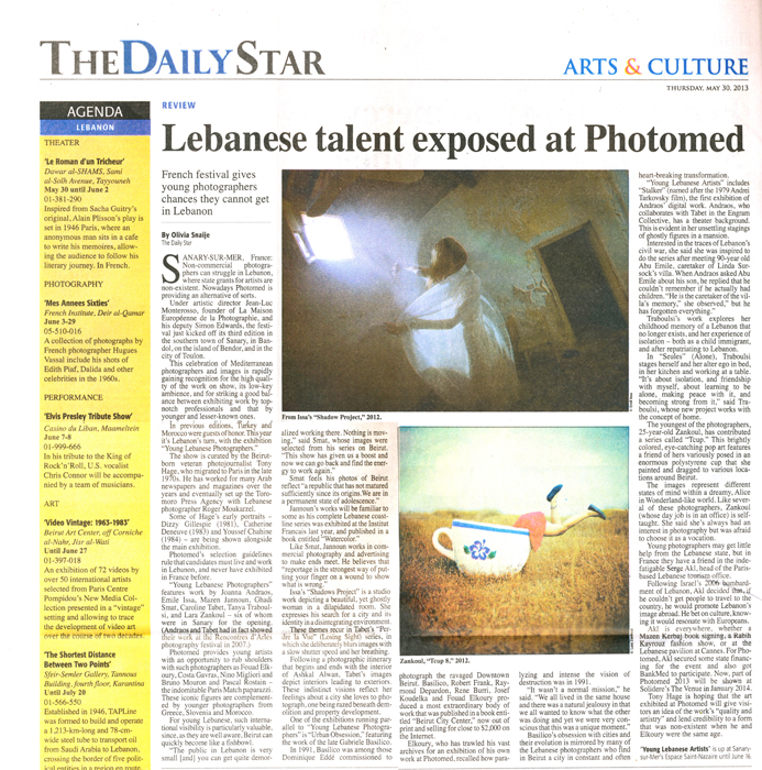 PHOTOMED Daily Star Emile Issa
