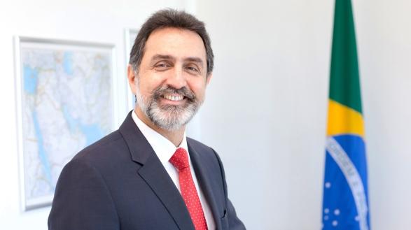 HE Jorge Geraldo Kadri-Brasilian Ambassador in Lebanon- Portrait-Emile Issa- Feb 2016-2 C 2