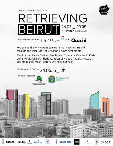 Retrieving Beirut Expo Press Invite
