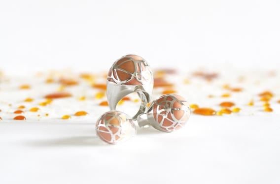 Caramel Coral by Cynthia Raffoul