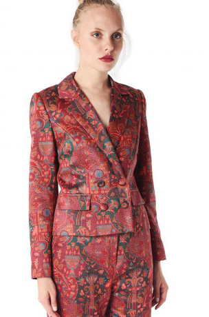 Janis Flower Bohemian Print Jacket / Jessica K