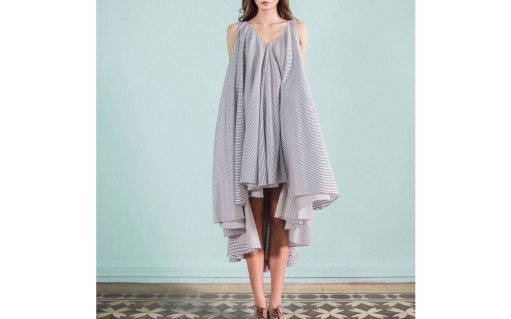 stripped-oversized-cotton-dress-larak-khoury