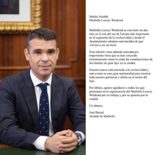Alcalde de Marbella Jose Bernal