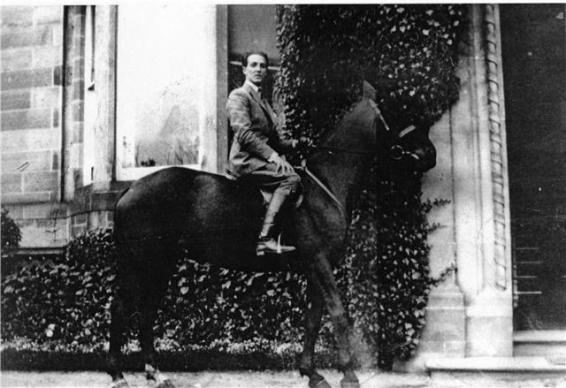 Fabio Poli on Horse in Elgin