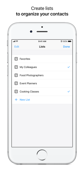 Create Lists (With Title)