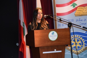 Ms. Sara Safa, President Rotaract Club of Beirut