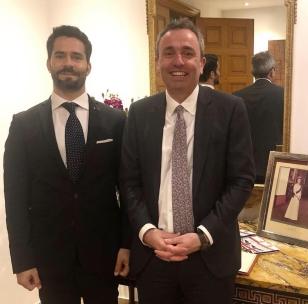 UK Ambassador Rampling & Emile E. Issa