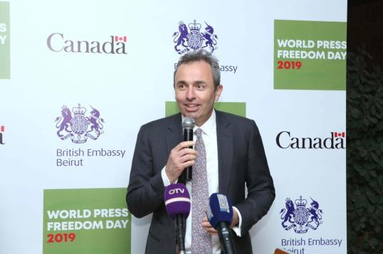 World Press Freedom Day reception (2)